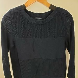 TOMMY HILFIGER Blue Cable Knit SWEATER